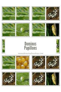 Maaademoiselle A. Shop - Dominos - Papillons