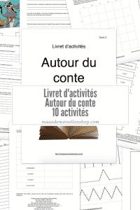 Maaademoiselle A. Shop - Livret d'activités - Autour du conte