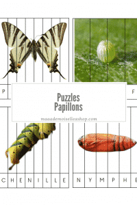 Maaademoiselle A. Shop - Puzzles - Papillons