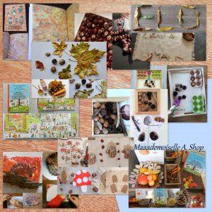 10 idées sur le thème de l'automne (activités, jeux, livres)