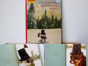 Maaademoiselle A. Shop - 10 idées sur le thème de Noël (activités, jeux, recette, livres) - Livre A la recherche du Père Noël
