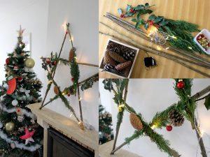 Maaademoiselle A. Shop - 10 idées sur le thème de Noël (activités, jeux, recette, livres) - Etoile de neige végétale