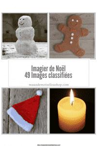 Maaademoiselle A. Shop - Nouveautés de novembre 2020 - Images classifiées Imagier de Noël