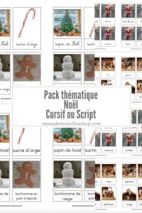 Maaademoiselle A. Shop - Nouveautés de novembre 2020 - Pack thématique Noël