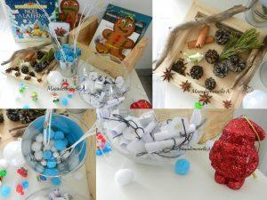 Maaademoiselle A. Shop - 10 idées sur le thème de Noël (activités, jeux, recette, livres) - Table de Noël