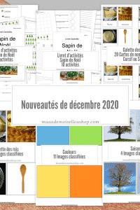 Maaademoiselle A. Shop - Nouveautés de décembre 2020