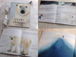 Maaademoiselle A. Shop - 10 idées sur le thème des animaux polaires (activités, jeux, livres) - Livre L'ours polaire