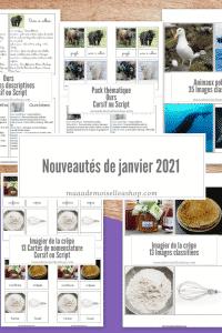 Maaademoiselle A. Shop - Nouveautés de janvier 2021