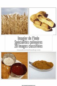 Maaademoiselle A. Shop - Nouveautés d'avril 2021 - Images classifiées - Imagier de l'Inde - Spécialités culinaires